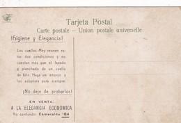 HIGIENE Y ELEGANCIA! CUELLOS MEY. PUBLICIDAD ADVERTISING CIRCA 1900s. UN VIÑEDO EN MENDOZA, ARGENTINA-BLEUP - Reclame