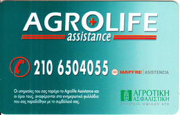GREECE - Agrolife Assistance, Member Card, Unused - Autres Collections