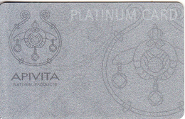 GREECE - Apivita, Platinum Member Card, Sample - Autres Collections