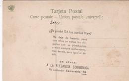SEÑOR: USTED YA PROBO LOS CUELLOS MEY?. PUBLICIDAD ADVERTISING CIRCA 1900s. MIRA FLORES, SALTA, ARGENTINA-BLEUP - Reclame