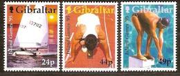 Gibraltar 1995 Yvertn° 723-25 *** MNH Cote 6 Euro Sport - Gibraltar