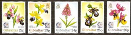 Gibraltar 1995 Yvertn° 731-736 *** MNH Cote 8 Euro Sport Flore Bloemen Flowers Singapore - Gibraltar