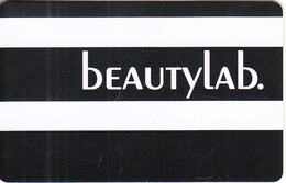 GREECE - Beauty Lab, Member Card, Unused - Autres Collections