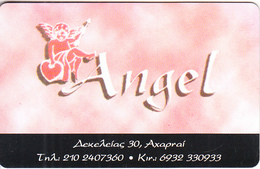 GREECE - Angel, Member Card, Unused - Autres Collections
