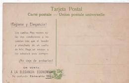 HIGIENE Y ELEGANCIA! CUELLOS MEY. PUBLICIDAD ADVERTISING CIRCA 1900s. HACIENDA, ARGENTINA-BLEUP - Reclame
