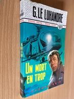 FLEUVE NOIR SPÉCIAL POLICE N° 1241   UN MORT EN TROP   G. LE LUHANDRE   E.O. 1976 - Fleuve Noir