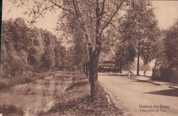 Genval Les Eaux Une Allée Du Parc 1929 - Rixensart