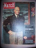 Paris Match N° 96 Du 20 Janvier 1951 - Le Général Eisenhower , Vivien Leigh... - General Issues
