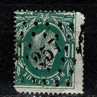 Belg.  30  Pt 257 Mouscron COBA + 4 - 1869-1883 Leopold II