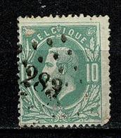 Belg.  30  Pt 283 Ostende COBA + 1 - 1869-1883 Leopold II