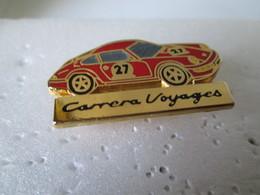 PIN'S    PORSCHE  911  CARRERA CUP  CARRERA  VOYAGES - Porsche