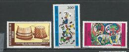 CONGO Scott C289-C291 Yvert PA285-PA287 (3) ** Cote 10,00 $ 1980 - Congo - Brazzaville