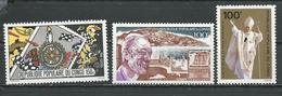 CONGO Scott 521, 522, C287 Yvert 565, 564, PA278 (3) ** Cote 6,25 $ 1980 - Congo - Brazzaville