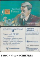 F436C TELECARTE FERRIE 50 U PUCE SO3 N° 1 Ligne  8 Chiffres 1994/03  COTE 35 - France