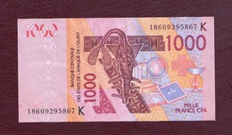 Senegal, 2003. Banque Centrale Des Etats De L'Afrique Del' Ouest. 1000 Francs CFA. - Sénégal