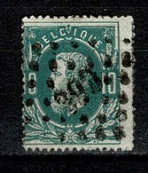 Belg.  30  Pt 390  Warnant Dreye  COBA + 15 - 1869-1883 Leopold II
