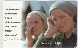 SCHEDA TELEFONICA NUOVA VATICANO SCV64 KOSOVO 1999 - Vatikan