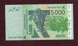 Senegal, 2003. Banque Centrale Des Etats De L'Afrique Del' Ouest. 5000 Francs CFA. - Sénégal