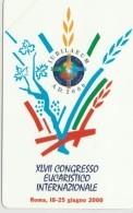 SCHEDA TELEFONICA NUOVA VATICANO SCV72 CONGRESSO EUCARISTICO - Vaticano