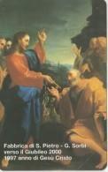 SCHEDA TELEFONICA NUOVA VATICANO SCV26 FABBRICA DI S.PIETRO - Vaticano