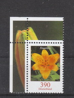 Deutschland BRD   **  2534  Blumen Postpreis 3,90 - [7] República Federal