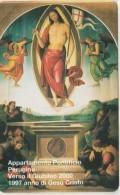 SCHEDA TELEFONICA NUOVA VATICANO SCV30 APPARTAMENTO PONTIFICIO - Vaticano
