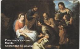 SCHEDA TELEFONICA NUOVA VATICANO SCV37 ADORAZIONE DEI PASTORI - Vaticano