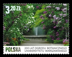 Poland 2018 Mih. 5013 Flora. Botanical Garden Of The University Of Warsaw MNH ** - Unused Stamps