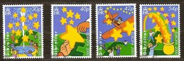 Gibraltar 2000 Yvertn° 911-914 (o) Oblitéré Cote 8,50 Euro CEPT Europa Faune - Gibraltar