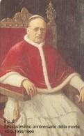 SCHEDA TELEFONICA NUOVA VATICANO SCV57 PIOXI 60 ANNIVERSARIO MORTE - Vaticano