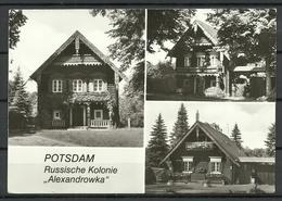 Deutschland DDR 1989 POTSDAM Russian Colony Alexandrowka - Sent 1996 With Stamp - Potsdam