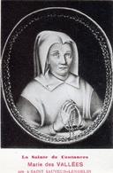 SAINT SAUVEUR LENDELIN: Marie Des VALLEES - La Sainte De COUTANCES, Née à St Sauveur Lendelin - Autres Communes