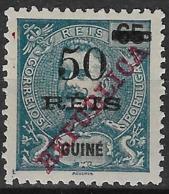 Portuguese Guinea – 1915 King Carlos Overprinted REPUBLICA - Portuguese Guinea