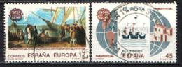 SPAGNA - 1992 - EUROPA: 5 CENTENARIO DELLA SCOPERTA DELL'AMERICA - USATI - 1931-Aujourd'hui: II. République - ....Juan Carlos I