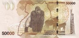 Uganda P.54a 50000 Shillings 2010   Unc - Uganda