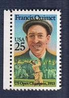 USA, 1988. Francis Ouimet, US Open Champion 1913. MintNH. Cat. Scott. 2377. - United States