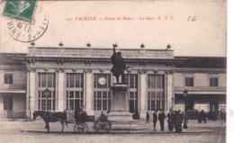 26 - Drome -   VALENCE  - La Gare - Statue De Bancel - Valence
