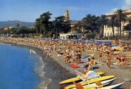Diano Marina - La Spiaggia - Formato Grande Viaggiata – E 9 - Imperia
