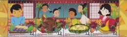 Filippine Philippines Philippinen Pilipinas 2018 Christmas Strip Of 4 Stamps Se-tenant - MNH** - Filippine