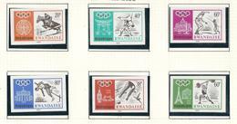263/268 (6 W/v) Non Dentelé / Ongetand X X  Timbre Neuf / Postfris / MNH / O.C.27,50€ - 1962-69: Nuevos