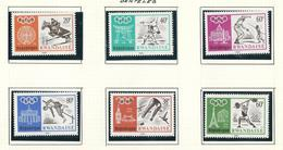 263/268 (6 W/v)  X X  Timbre Neuf / Postfris / MNH / O.C.2,50€ - 1962-69: Nuevos