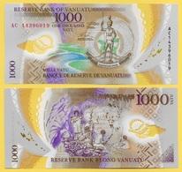 Vanuatu 1000 Vatu P-13 2014 UNC - Vanuatu