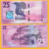 Seychelles 25 Rupees P-48 2016 UNC - Seychelles