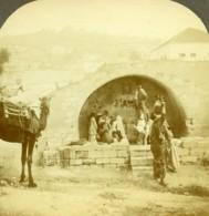 Israel Palestine Nazareth Puits De Marie Ancienne Photo Stereo Wright 1900 - Stereoscopic