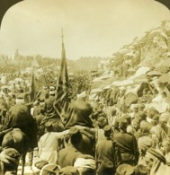Israel Palestine Jerusalem Grand Pelerinage Ancienne Photo Stereo Young ASC 1900 - Stereoscopic