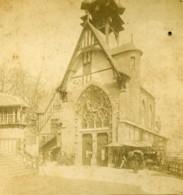 France Paris Exposition Universelle Berges De La Seine Ancienne Photo Stereo 1889 - Stereoscopic