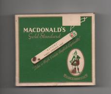 CANADA - ETUI VIDE DE CIGARETTES - MACDONALD'S - GOLD STANDARD - FINEST VIRGINIA LEAF - MONTREAL - Empty Cigarettes Boxes