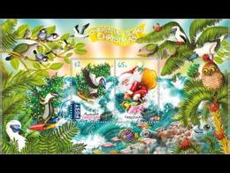 Australia 2018 Christmas Island Santa Claus MNH Souvenir Sheet - Christmas Island