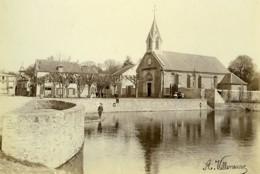 France Yvelines Village De Vélizy Eglise Ancienne Photo Villeneuve 1900 - Photographs