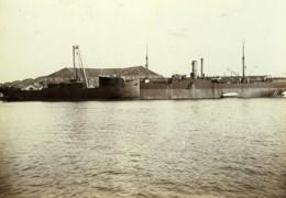 France Le Havre Cargo Boat Mexico Et Vendee En Construction Ancienne Photo Villeneuve 1900 - Photographs